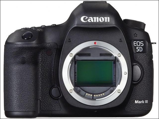 35mmフルサイズセンサーのEOS5D Mark Ⅲ