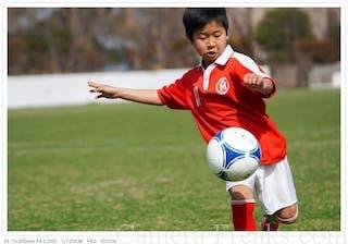 α6300で撮影した子供のスポーツ写真