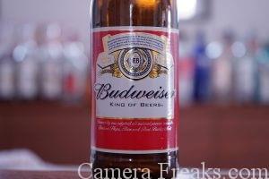 ビールのラベルをISO100で撮影した写真