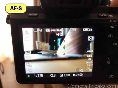 一眼レフカメラでピント合わせするときに一番よく使うシングルAF(AF-S)