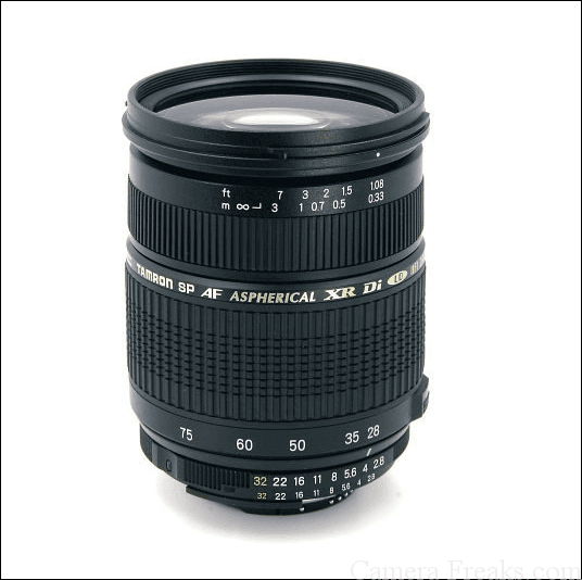 タムロン標準ズームレンズ SP AF 28-75mm F/2.8