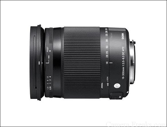 キヤノン用望遠レンズ 18-300mm F3.5-6.3 DC MACRO OS HSM