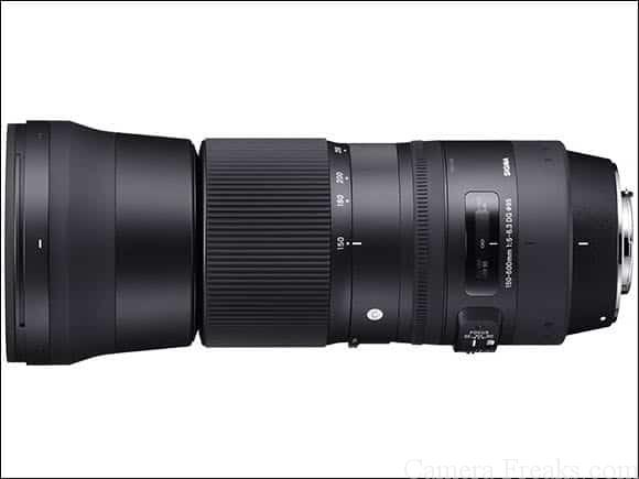 シグマ望遠レンズ 150-600mm F5-6.3 DG OS HSM Contemporary