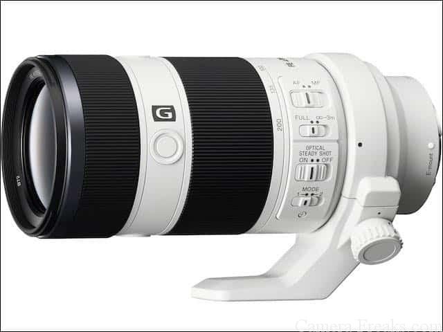 ソニーEマウント望遠レンズ FE 70-200mm F4 G OSS SEL70200G