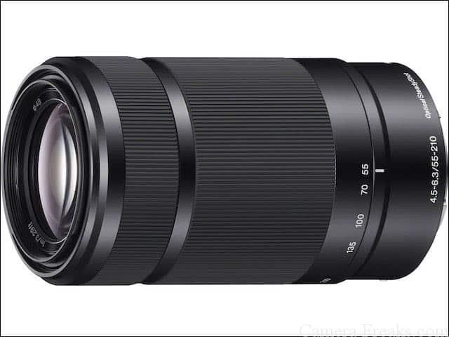 ソニーEマウント用望遠レンズ E 55-210mm F4.5-6.3 OSS SEL55210