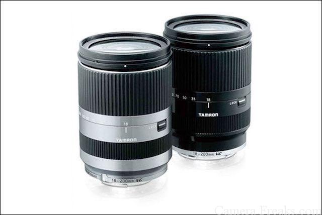タムロンEマウント用望遠レンズ 18-200mm F:3.5-6.3 Di Ⅲ VC