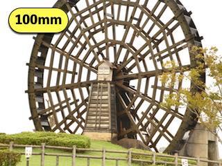 タムロンの高倍率ズームレンズの焦点距離100mmで撮影した写真