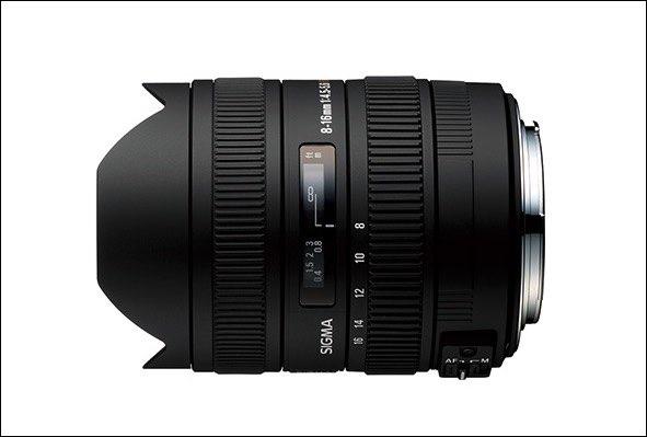 シグマ超広角レンズ シグマ 8-16mm F4.5-5.6 DC HSM