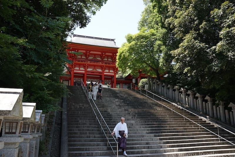 近江神宮の本殿