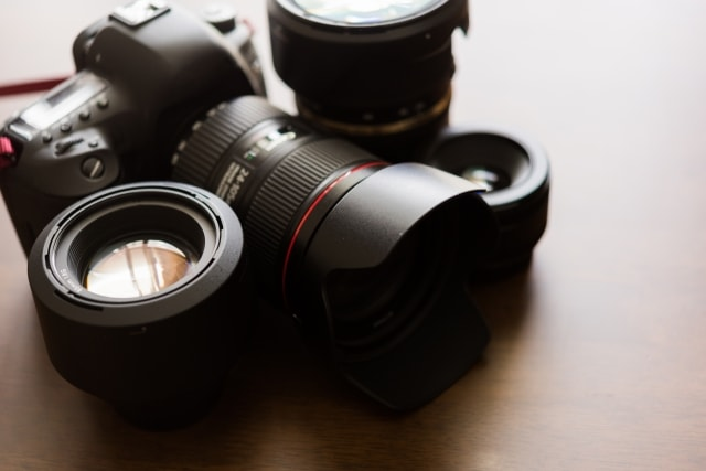 高画質でどんな写真も撮れる一眼レフ