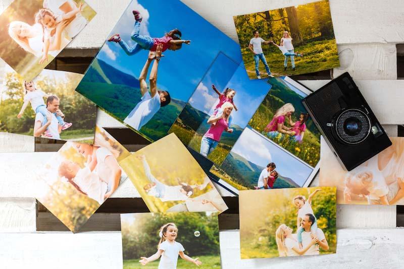 スマホの写真をこまめに印刷する