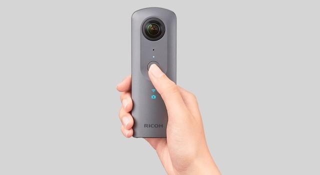 360度カメラリコーシータV