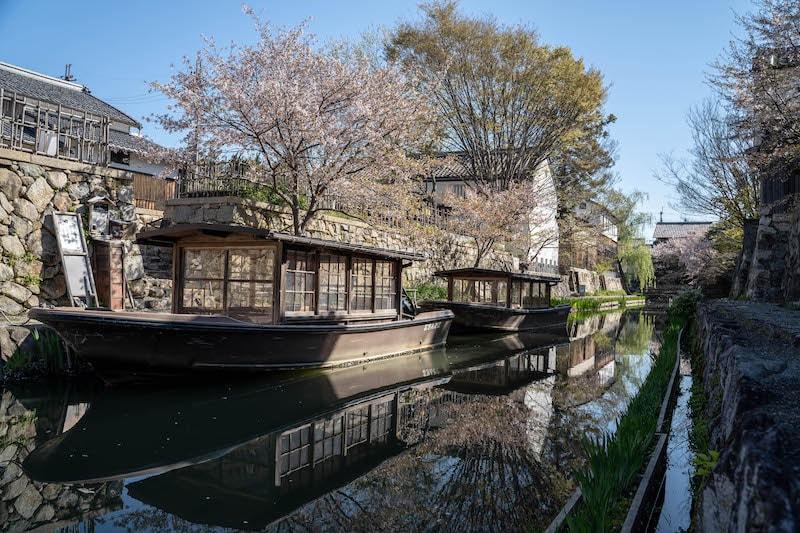 α7 Ⅲで撮影した八幡堀の風景写真