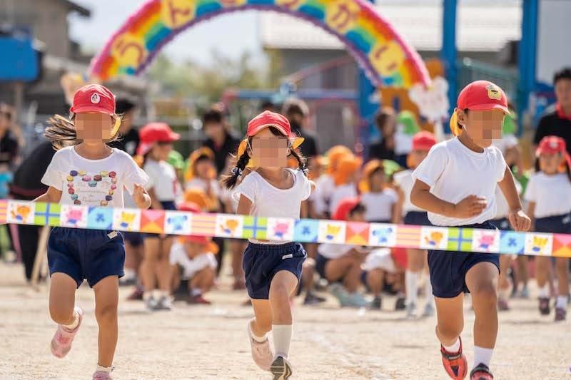 子供の運動会を撮影する時のシャッタースピード