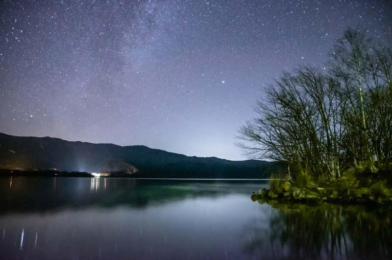 星空を撮る場合のシャッタースピード