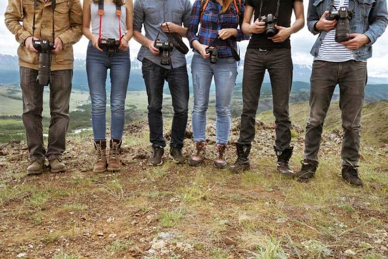 カメラ友達はお互いに勉強になる